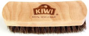 Kiwi Horsehair Shine Brush Review